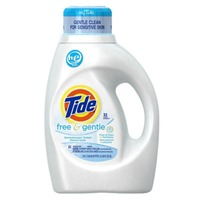 Tide Free and Gentle High Efficiency Liquid Laundry Detergent, 50 oz, 32 loads Laundry