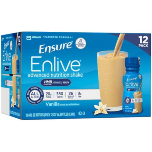 Ensure Enlive Vanilla Advanced Nutritional Shake