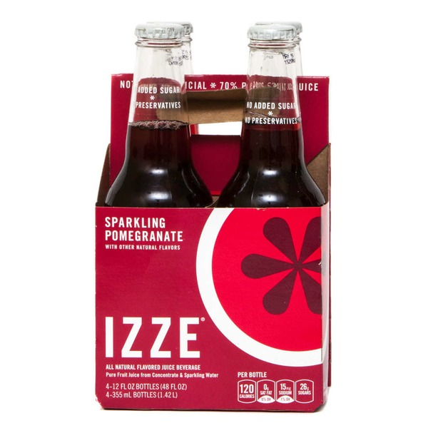 Izze Sparkling Pomegranate Juice