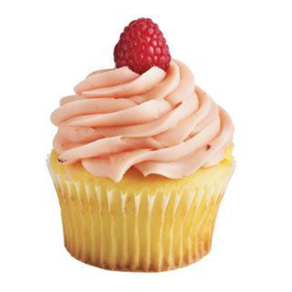 Sensational Raspberry Cheesecake Cupcake