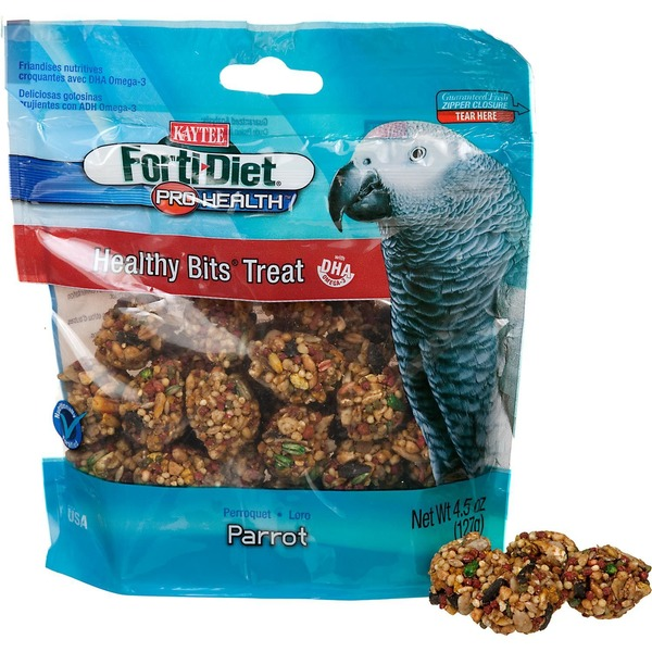 Kaytee Forti-Diet Pro-Health Healthy Bits Parrot Treats
