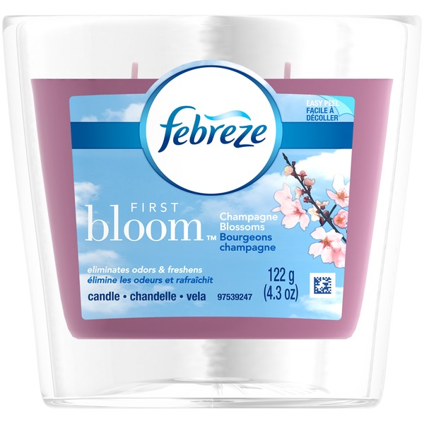 Febreze Candle Febreze Candle First Bloom Air Freshener (1 Count, 4.3 oz)  Air Care