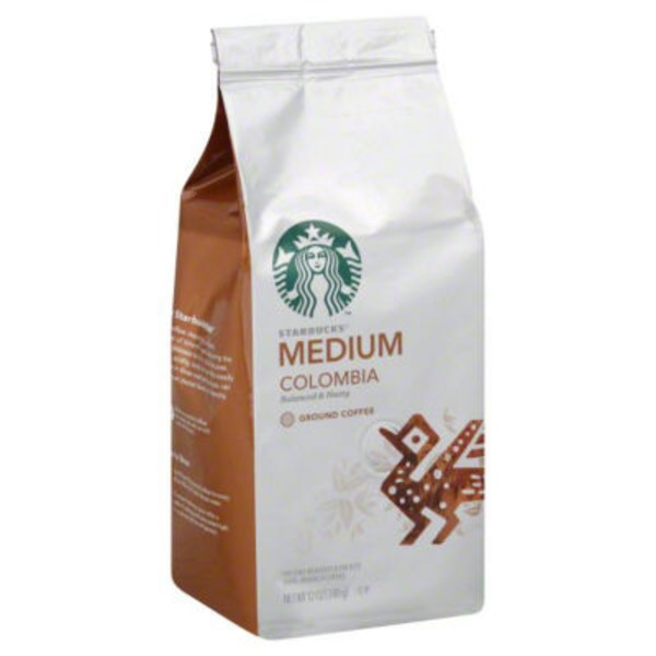 Starbucks Medium Colombia Ground Coffee
