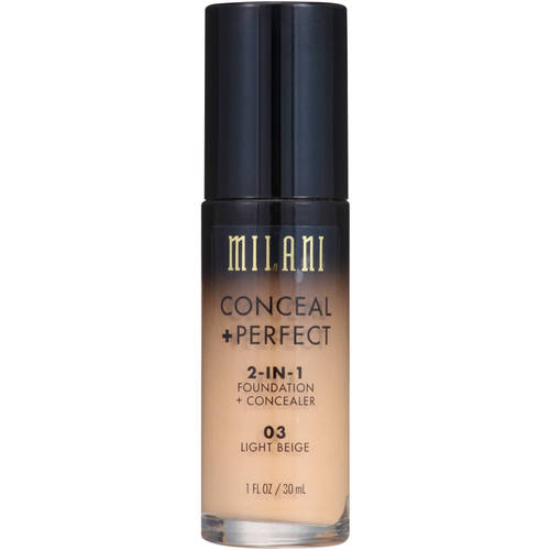 Milani Conceal + Perfect 2-in-1 Foundation + Concealer 03 Light Beige