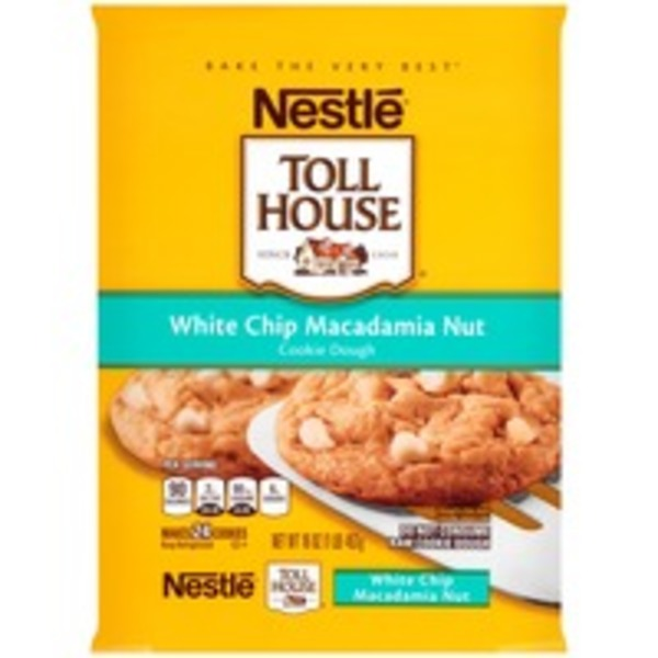 Toll House White Chip Macadamia Nut Cookie Dough