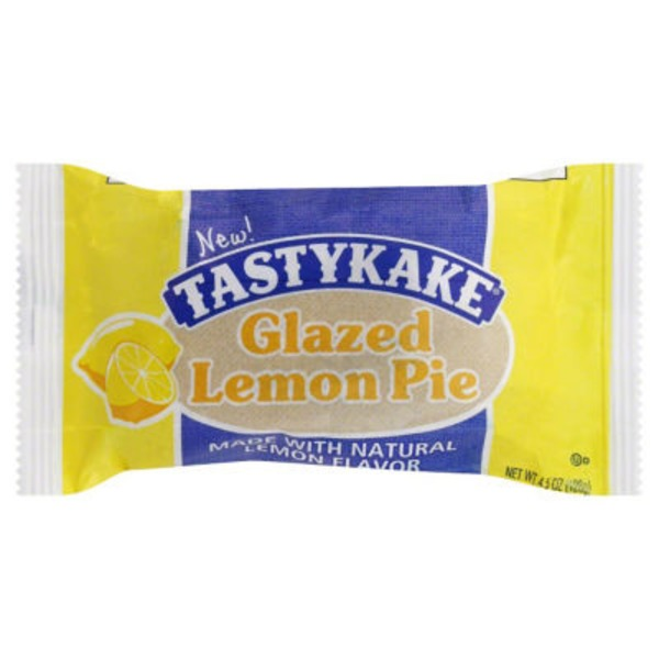 Tastykake Glazed Lemon Pie