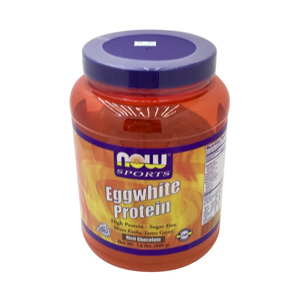 Now Sports Eggwhite Protein Powder Rich Chocolate
