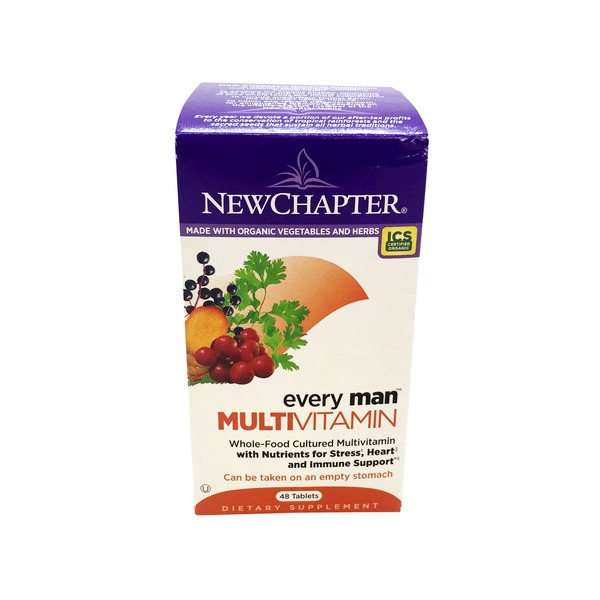 New Chapter Every Man Multi Vitamin