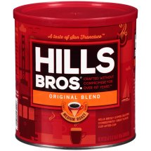 Hills Bros Medium Roast Ground Coffee, Original Blend, 30.5 Oz