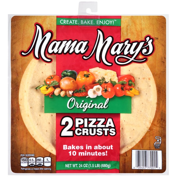 Mama Mary's Original Pizza Crusts