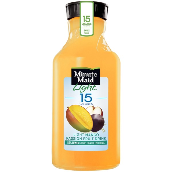 Minute Maid Light Mango Passion Fruit Fruit Drink
