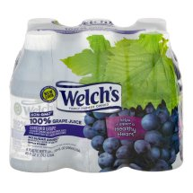Welch's 100% Fruit Juice, Concord Grape, 10 Fl Oz, 6 Count