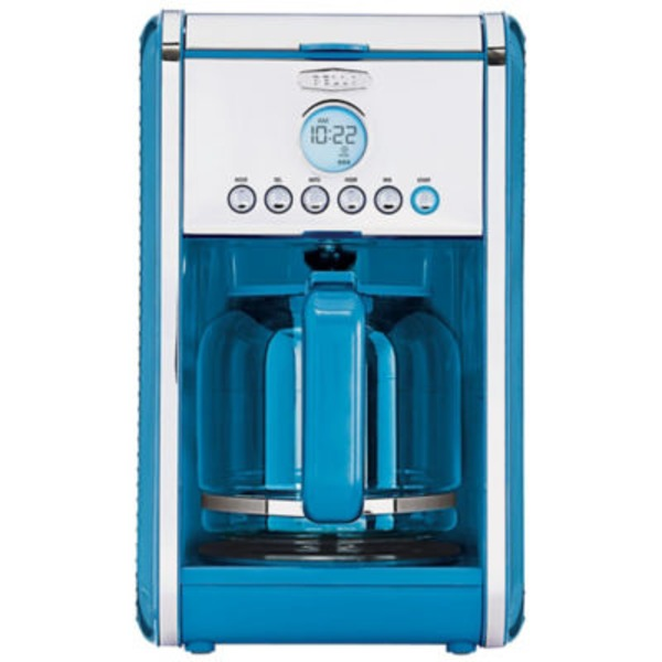 Bellas Turquoise Programmable 12 Cup Coffeemaker