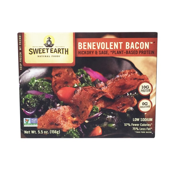 Sweet Earth Hickory & Sage Smoked Seitan Bacon