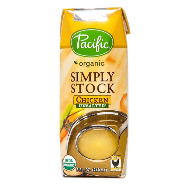Pacific Simply Stock Organic Chicken Unsalted Stock