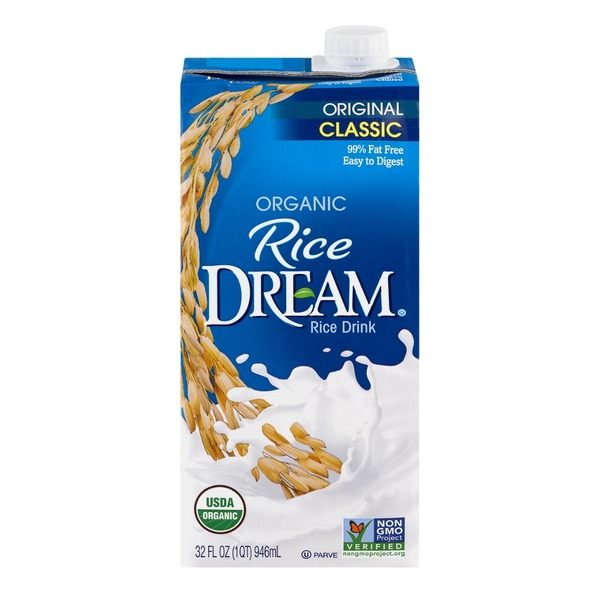 Rice Dream Organic Rice Drink Original Classic