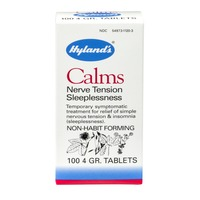 Hyland's Calms Nerve Tension Sleeplessness 4 GR. - 100 CT