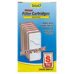 Tetra Whisper Replacement Carbon Filter Cartridges Small, 6 ct