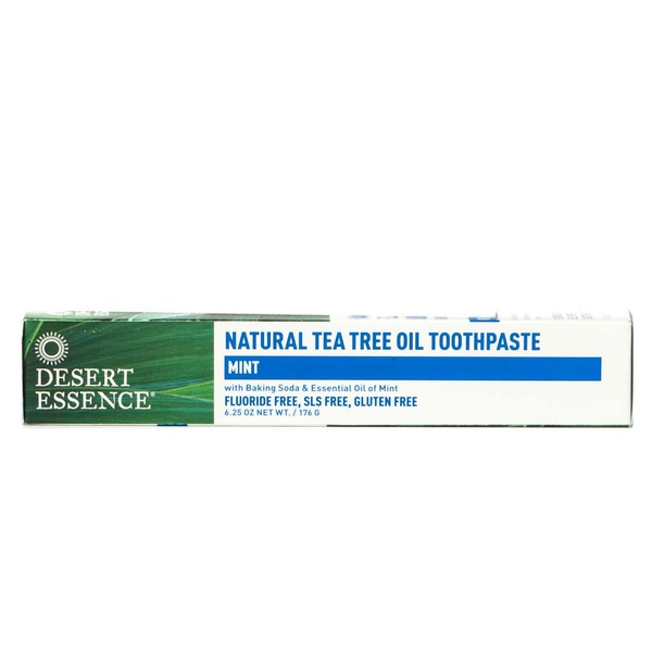 Desert Essence Natural Tea Tree Oil Toothpaste Mint