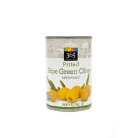 365 Ripe Green Pitted Olives