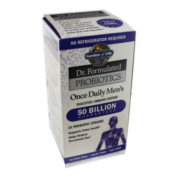 Garden of Life Doctor Formulated Probiotic Men's 50 Billion