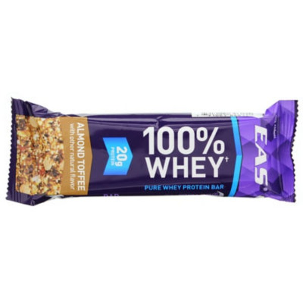Eas 100% Whey 100% Whey Almond Toffee Protein Bar