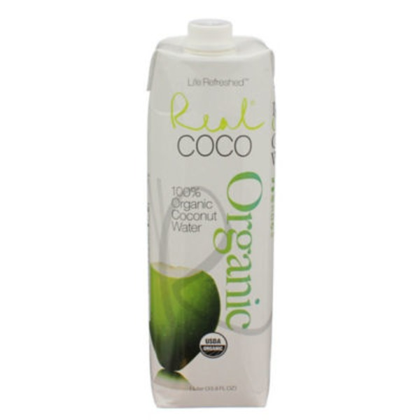 Life Refreshed Real Coco 100% Organic Coconut Water