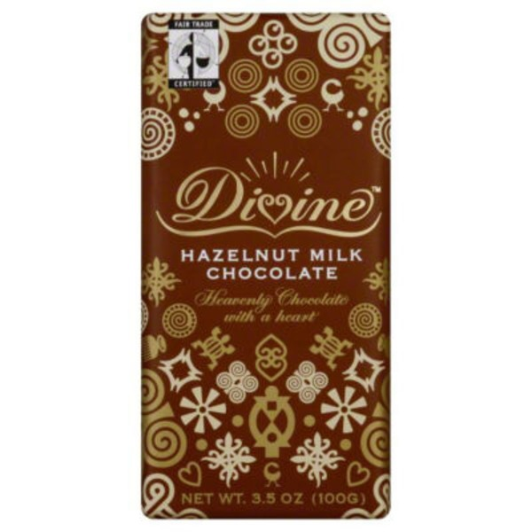 Divine Milk Chocolate, Hazelnut