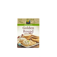 365 Organic Classic Golden Round Crackers