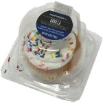 Wal-mart Bakery Vanilla Jumbo Cupcake Single Serve