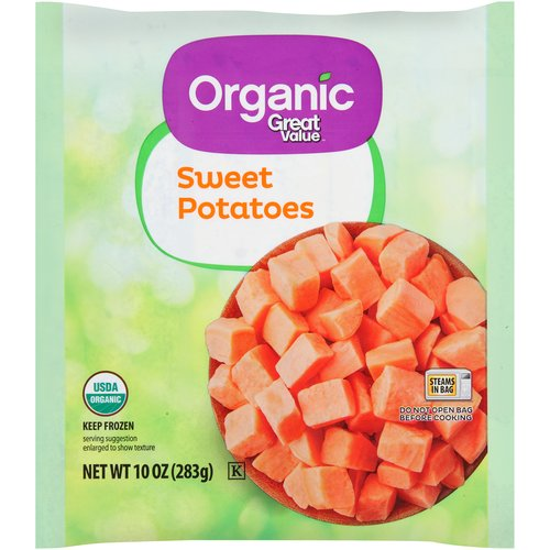 Great Value Organic Sweet Potato