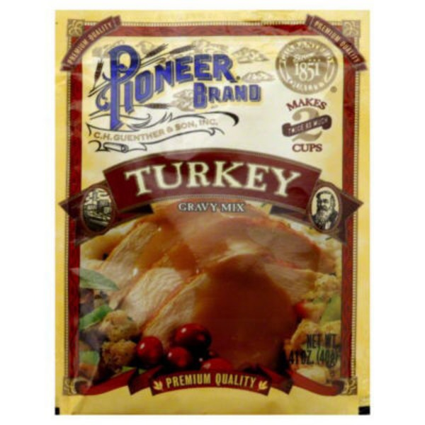 Pioneer Brand Turkey Gravy Mix