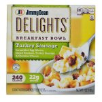 Jimmy Dean Delights Turkey Sausage Breakfast Bowl, 7 oz