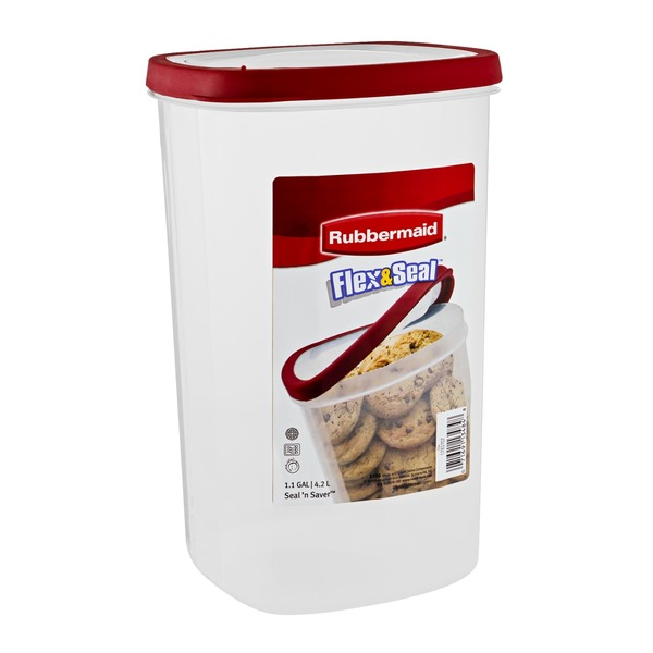 Rubbermaid Flex & Seal Canister - 1.1 GAL