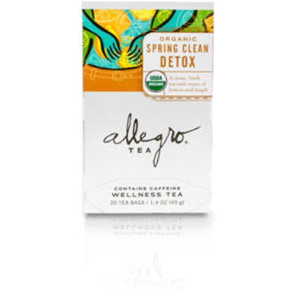Allegro Spring Clean Detox Tea Bags
