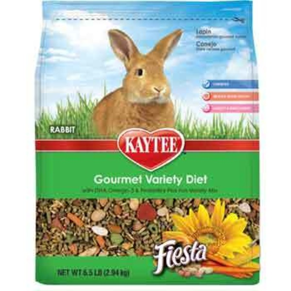 Kaytee Gourmet Variety Diet Fiesta Rabbit Food