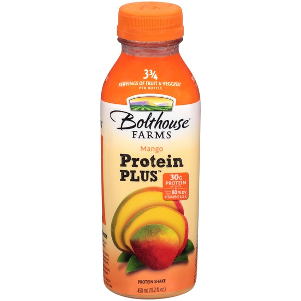 Bolthouse Farms Protein Plus Mango Protein Shake