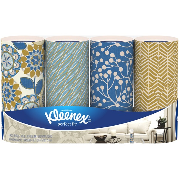 Kleenex Perfect Fit Facial Tissues