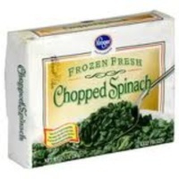 Kroger Private Selection Frozen Chopped Spinach