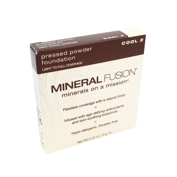 Mineral Fusion Pressed Powder Foundation - Cool