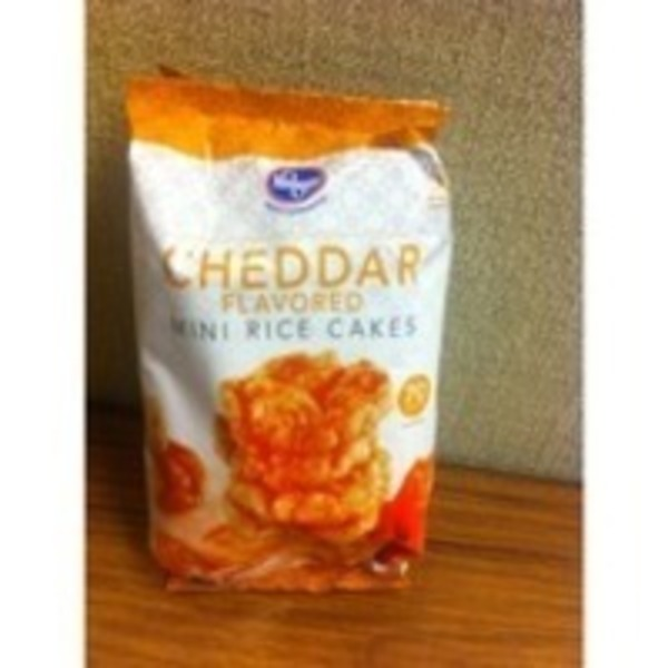Kroger Rice Cake Mini Cheddar