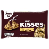 Kisses Milk Chocolate with Almonds Candy