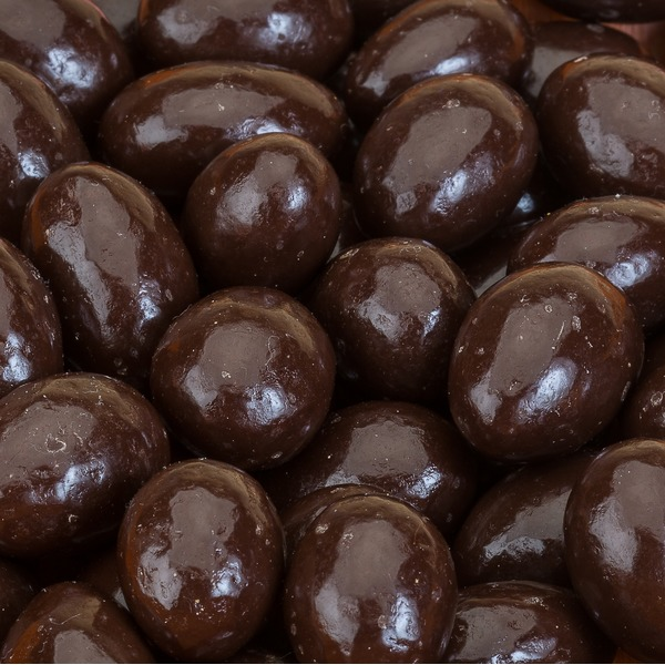 SunSpire Organic Dark Chocolate Covered Almonds, Bulk