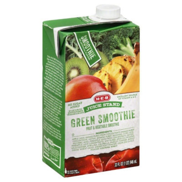 H-E-B Juice Stand Green Smoothie