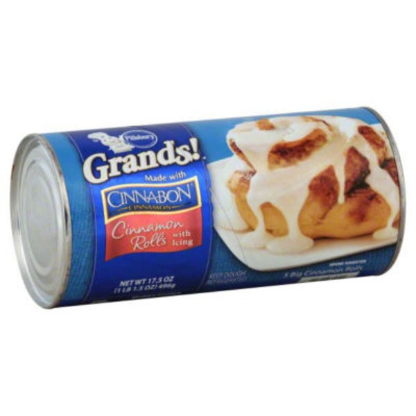 Pillsbury Grands! Grands! with Icing Cinnamon Rolls