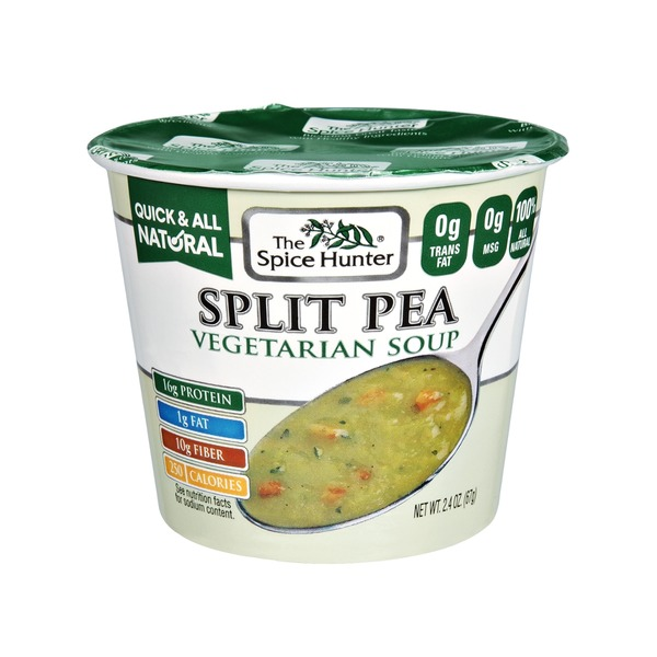 The Spice Hunter Split Pea Vegetarian Soup