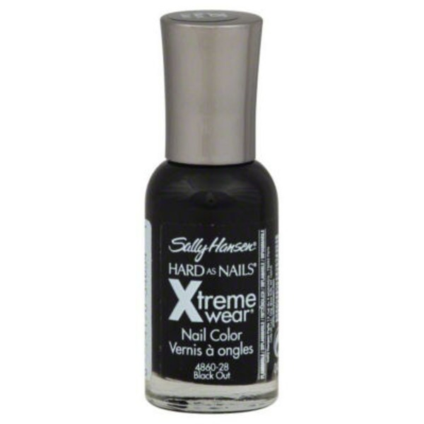 Sally Hansen Hard as Nails Xtreme Wear Nail Color 370 Black Out