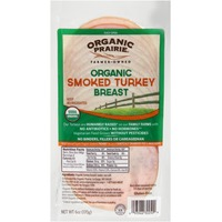 Organic Prairie Smoked Turkey Breast Slices Turkey