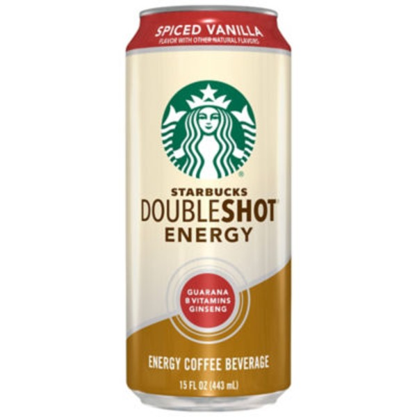 Starbucks Doubleshot Energy Spiced Vanilla Coffee Drink