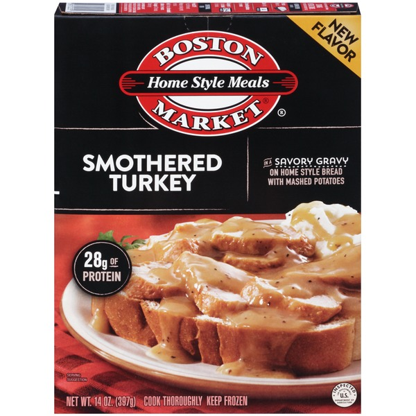 Boston Market Home Style Meals Smothered Turkey